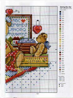 Gallery.ru / Фото #23 - Cross Stitch Teddies - KIM-2