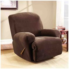 leather chair covers to buy ergonomic vietnam 25 best recliner images slipcover cover sure fit home furniture design