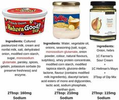 Compare ingredients and salt Epicure Recipes, Healthy Recipes, Epicure Steamer, Dehydrated Onions, Creamed Onions, Clean Eating, Healthy Eating, Natural Flavors, Yummy Treats