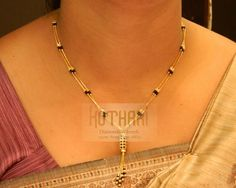 Mangalsutra - Gold Mangalsutra (MS12571235) at USD 662.28 And EURO 596.52
