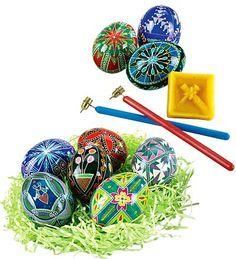 Ukrainian  Egg Decorating Kit | Easter Crafts