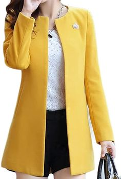 Winter Coats Women, Coats For Women, Jackets For Women, Clothes For Women, Blazer Fashion, Winter Fashion Outfits, Mode Adidas, Look Blazer, Mode Style