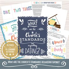 dating standards lds