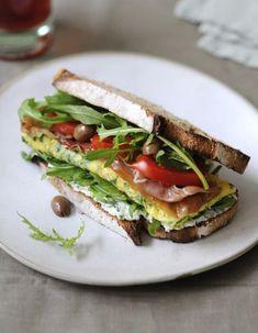 Sandwich à la roquette