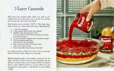 Grandma's Vintage Recipes: 1950s 7-LAYER CASSEROLE