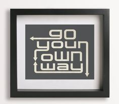 Go Your Own Way / Fleetwood Mac  Music Lyrics Artwork