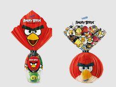 O Angry Birds, jogo mais famoso dos últimos tempos, está até com ovo de páscoa! Quem lançou o chocolate da marca foi a Lacta.