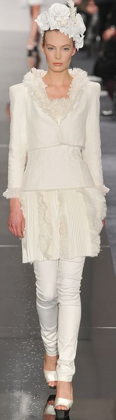 Chanel Haute Couture Spring 2009 | The House of Beccaria