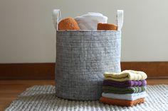 Noodlehead: Fabric Bucket: Zakka Handmades + Book Giveaway