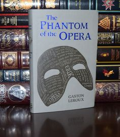 The Phantom of the Opera by Gaston Leroux Brand New Deluxe Leather Feel Gift Gaston Leroux, Leather Books, Phantom Of The Opera, Book Collection, Room Organization, Christmas 2019, Feelings, Classic, Theatre