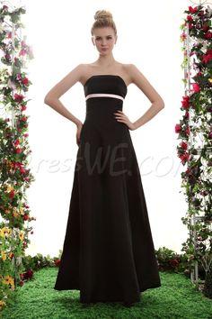 Dresswe.com SUPPLIES A-Line Strapless Floor-Length Yana's Bridesmaid Dress 2013 Bridesmaid Dresses