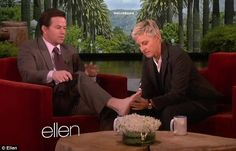 Mark Wahlberg shares graphic details of his ingrown toenail with Ellen DeGeneres