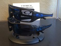 Oakleys Thin Blue LIne Police http://www.drchopshop.com/thin-line-series.html
