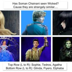 Reader's gallery | School for Good and Evil - This is funny because the writer of the book Wicked enjoys The School Of Good And Evil series