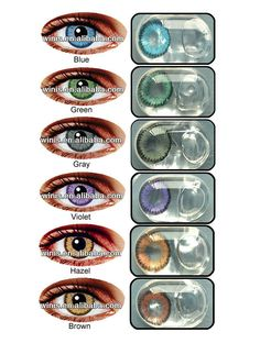 Eclipse wholesale Korea cheap color contacts korean cosmetic 1 year contact lenses $2.5~$4.5 White Contact Lenses, Cosmetic Contact Lenses, Eye Contact Lenses, Prescription Colored Contacts, Colored Eye Contacts, Color Contacts, Eye Lens Colour, Color Lenses, Korean Natural Makeup