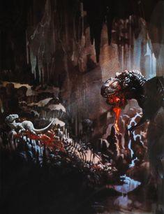 The Lost World: #Jurassic Park #concept #art #dinosaurs