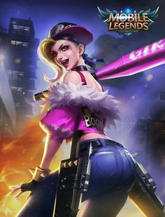"Mobile legends - Fanny ""Punk Princess"""