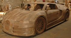 Replica Car Bugatti Veyron with the size as original car, length 4.46m, width 2.00m, height 1.20m.