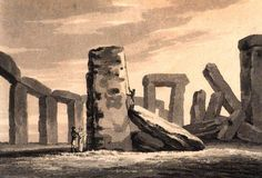 1815   Stonehenge.    From: 1815 Journal of Tour of Great Britain by a French Tourist via Google Books (PD-180)   © suzilove.com