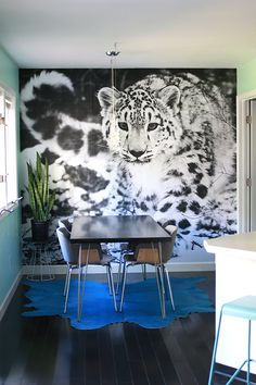 10 ideas for statement walls via a beautiful mess.