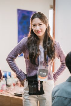 Korean Casual Outfits, Cool Outfits, Trendy Fashion, Fashion Beauty, Fashion Outfits, Kdrama, Korean Drama Best, Pretty Asian, Korean Actresses