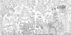 Johanna Basford Enchanted Forest courtesy the artist and Laurence King 1