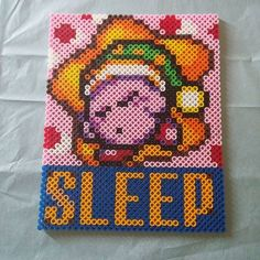 Kirby perler beads by yougotmarin
