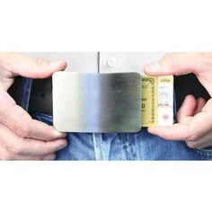 Smart Belt Buckle - SkyMall