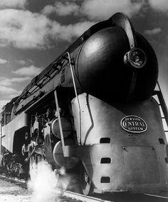 New York Central Steam Locomotive photo NYC Railroad Empire State Express New York Central Railroad, Rail Train, Train Posters, Old Trains, Vintage Trains, Train Pictures, Steam Engine, Steam Locomotive, Train Tracks