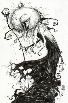 This is so freaking cool!  Comic Book artist, Skottie Young's interpretation of David Bowie's Goblin King from Labyrinth.