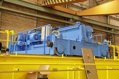 130t bridge crane for Gamesa. GH Cranes & Components