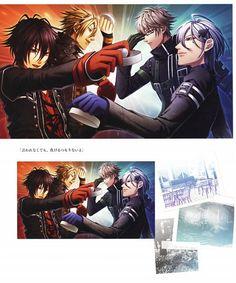 9000x10803 13378kB Ikki Amnesia, Amnesia Shin, Amnesia Anime, Base, Fictional Characters, Fantasy Characters
