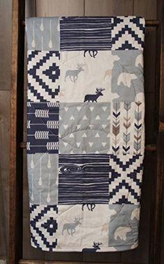 Baby Boy Hunting Quilt , Baby Quilt , Woodland , Deer , M... https://www.amazon.com/dp/B01IAA9NKY/ref=cm_sw_r_pi_dp_x_UJS6xb8FKS1H5