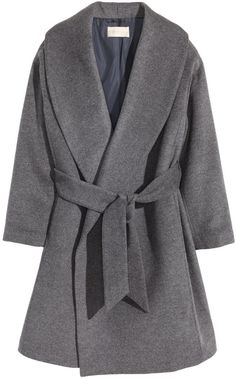 We can't get enough of this grey H&M wool-blend coat! Get it now at ShopStyle!