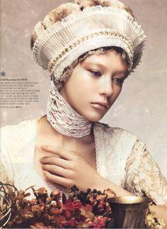 Dasha Fedotova by Hong Jang Hyun for Heren Magazine November 2011. #fashion #photography