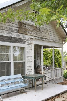 Rachel Ashwell Shabby Chic Couture Shop at The Prairie  ~ Round Top, Texas