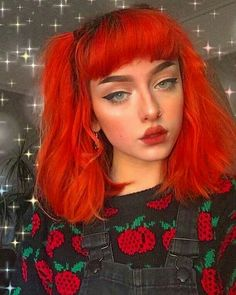 Unique neon peach hair color trends in 2019 00010 Aesthetic Hair, Aesthetic Makeup, Pelo Indie, Peach Hair Colors, Maquillage Halloween, Foto Art, Dye My Hair, Cool Hair Color, Girls Makeup