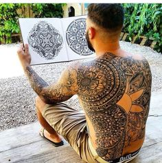 Maori Back Tattoo Motive Trendy Tattoos, Popular Tattoos, New Tattoos, Tribal Tattoos, Cool Tattoos, Paisley Tattoos, Butterfly Tattoos, Dream Tattoos, Flower Tattoos