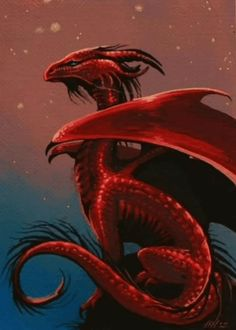 this dragon has something about it I cant explain! Its a feeling: a great Red Dragon image, wow. Dragon Rouge, Dragon Artwork, Cool Dragons, Beautiful Dragon, Dragon's Lair, Dragon Pictures, Fire Dragon, Water Dragon, Dragon Head