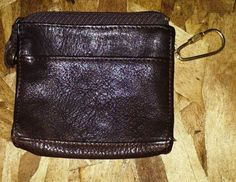Wilson's Leather Brown Leather Unisex Wallet