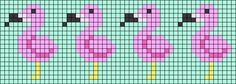 Alpha Friendship Bracelet Pattern added by HazelMargo. Crochet Bird Patterns, Bead Loom Patterns, Beading Patterns, Embroidery Patterns, Cross Stitch Patterns, Mini Cross Stitch, Cross Stitch Animals, Friendship Bracelet Patterns, Friendship Bracelets
