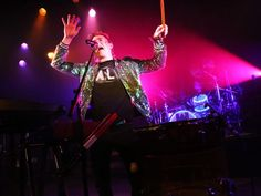Walk the Moon getting national praise. Photo: Nicholas Petricca of Walk the Moon performs in front of a sold-out crowd at Bogart's Wednesday, April 1, 2015. The Enquirer/Meg Vogel