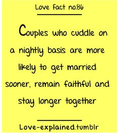 I love cuddling its the best. Its in that moment when you just love to be with each other. there doesn't have to be talking just contact. Love Facts, Fun Facts, Awesome Facts, Science Facts, Random Facts, Interesting Facts, Random Things, Random Stuff, Affirmations