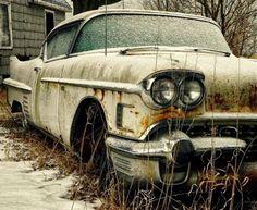 1958 Cadillac with dagmar bumper