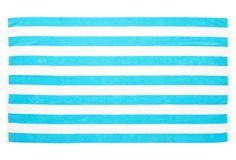 Cabana Stripe Beach Towel, Turquoise