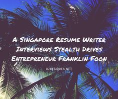 Resume Writer Singapore