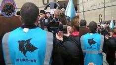 Kırım Türk'leri Rusya'nın Kırım'ı İşgalini Protesto Ediyor
