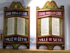 Pavois de joutes nautiques - Musée de la Mer de Sète #sete #france languedoc #mer #joute