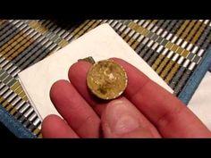 Suche mit Metalldetektor und Fund Silber Schilling #fund #metalldetektor #silberschilling Personalized Items, Detector De Metal, Search, Silver