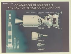 HUMANOID HISTORY — Vintage NASA illustrations show the differences...